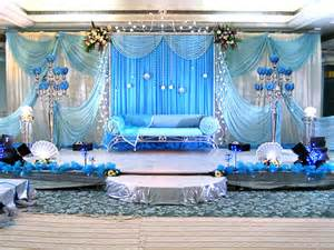 royal blue and gold baby shower royal wedding stage decoration image impfashion all
