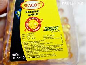 Seacod Cod Liver Oil Capsules For Vitamin D3 And Dha Review  Uses And Dosage