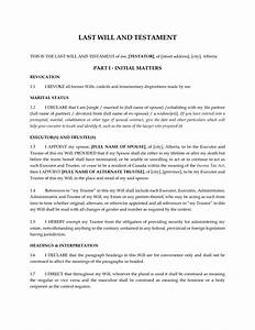 free resume templates florida last will and testament With joint will and testament template