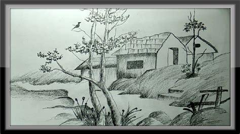 easy pencil drawings  nature ephesustourcc