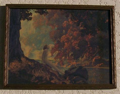 maxfield parrish print dreaming for sale antiques com