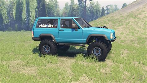jeep xj jeep xj 1990 for spin tires