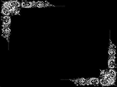 Border Wallpaper Desktop by Plain Black Wallpaper Border 1 Desktop Background