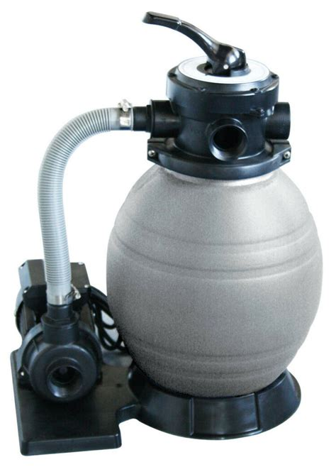 sandfilter für brunnenwasser new above ground swimming pool automatic sand filter cleaner system 710552821793 ebay