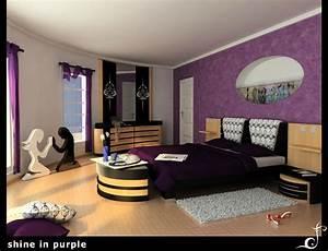 25, Impossible, Purple, Bedroom, Ideas
