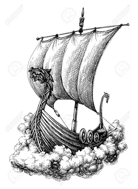Viking Boat Drawing Easy by Viking Boat Drawing At Getdrawings Free For Personal