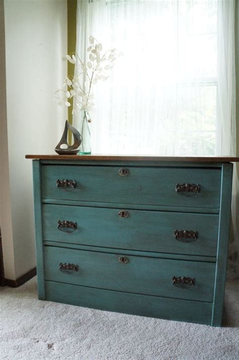 chests and dressers on chalk painted antique 3 drawer dresser aqua 8198