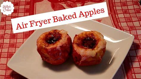 fryer air apples baked
