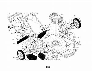917 376540 Craftsman Lawn Mower 160cc Honda Engine 22 Inch