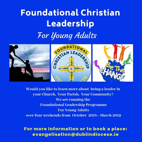 foundational leadership programme  young adults