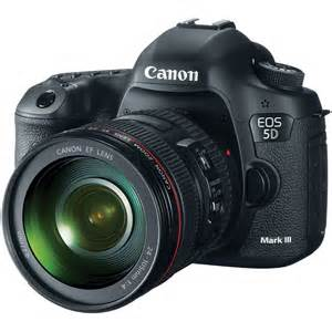 Canon Announces the 5D Mark III DSLR - a More Powerful DSLR