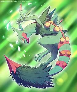 Mega Sceptile by DeNovember on DeviantArt