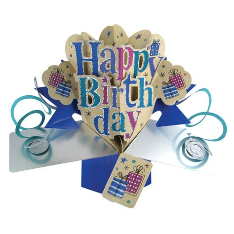 Happy Birthday Popup Greeting Card  Cards  Love Kates