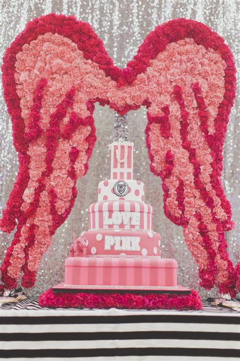 victoria secret pink party houston event planner cake