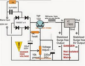The Post Explains How An Ordinary Capacitive Power Supply