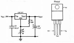 Voltage regulator lm317t adjustable pack of 10 for Lm317t circuit