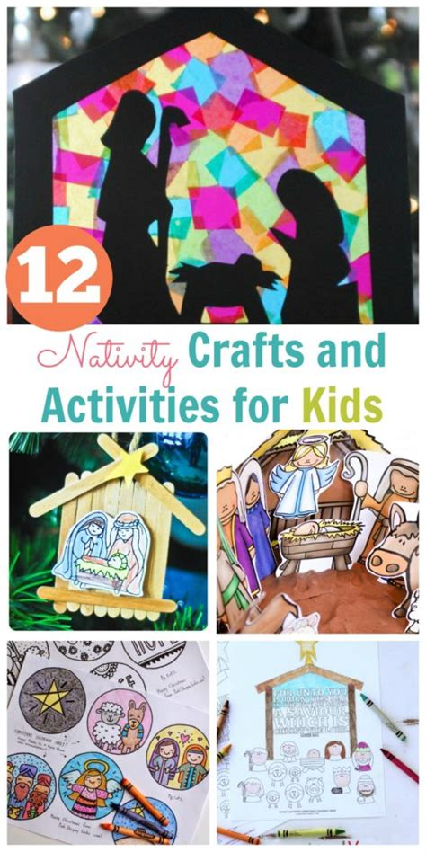 christmas baby jesus party for kids nativity crafts and activities for happy home