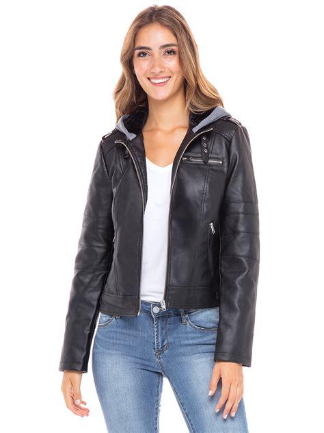 Stolen Hearts - Stolen Hearts Womens Faux Leather Jacket ...