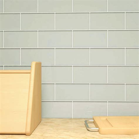 """Cristezza Glass Subway Tile (light Gray)  3"""" X 6"""" Piece. Bath Room Vanity. Modern Wallpaper Ideas. Woodworks Madison. French Doors For Bedroom"""