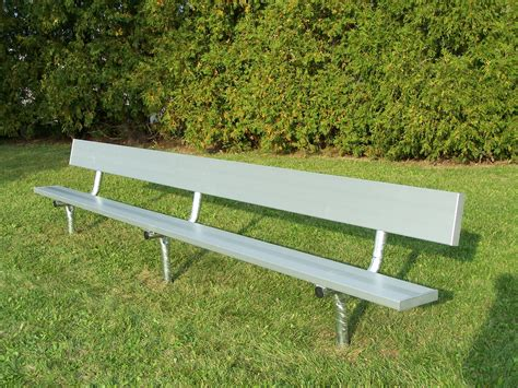 Outdoor Benches  Aluminum Seating, Fixed, Portable
