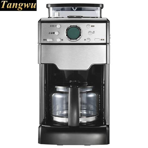 This espresso machine has a dial with grind settings so you can easily adjust the grind size and the compact size of the barista express allows you to place it even in the smallest kitchen. Full automatic American coffee machine office grinder-in Coffee Makers from Home Appliances on ...