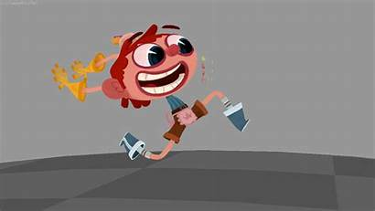 Animation Character Fast Run 2d Cycle Silly