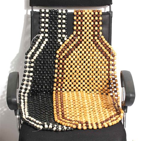 universial beaded wooden front seat chair cover