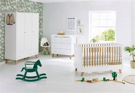 Pinolino Babyzimmer Set (3tlg) Kinderzimmer »pan« Breit