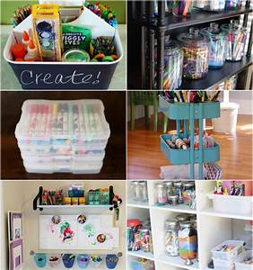 10 Best Ways To Organize Art Supplies - Modern Parents