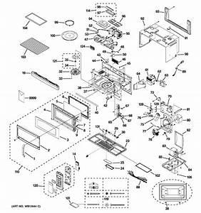 Ge Profile Microwave Parts Diagram  U2013 Bestmicrowave