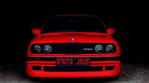 Bmw Red Cars Old Car Wallpaper