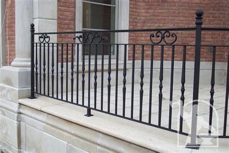 Wrought Iron Exterior Railings Photo Gallery