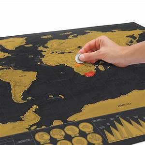 Carte Du Monde Design : scratch map carte du monde gratter dition de luxe luckies absolument design ~ Teatrodelosmanantiales.com Idées de Décoration