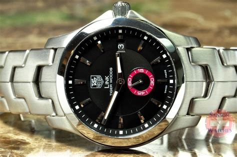 Tag Heuer Link Automatic Tiger Woods Golf Watch Limited ...