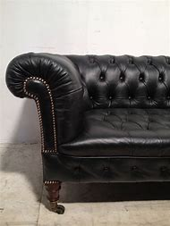Victorian Chesterfield Sofa Leather