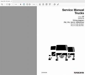 Volvo Fm- Fh Ver2 A615020-622781  B421649 Service Manual