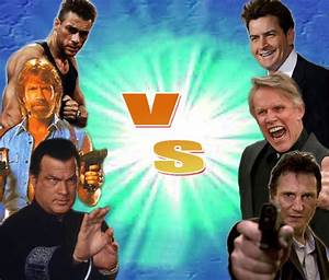 Who would win: Jean-Claude Van Damme, Chuck Norris, and ...