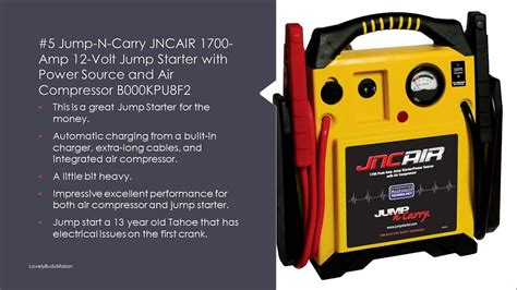 Review Top 10 Car Battery Jump Starter Pack Autozone With