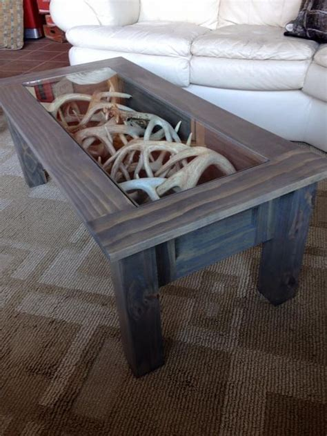the shed book a table 28 cool ways to use antlers in home d 233 cor shelterness