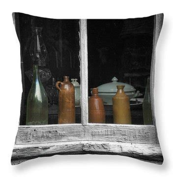 Window Sill Pillow by Window Sill Painting By Zulli