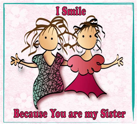 smile    sister   brother sister ecards