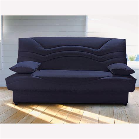 banquette clic clac 140 cm confort grand luxe