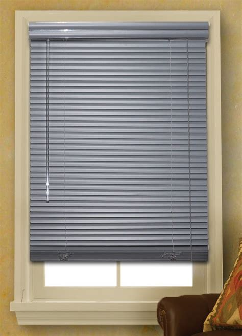 Mini Blinds by Window Blinds Mini Blinds 1 Quot Gray Vinyl Blind 64 Quot Length