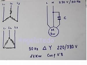 C U00f3mo Conectar Un Motor Trif U00e1sico 220  380v A 220 V