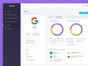 IT Recruitment Dashboard Company Profile By Kukuh