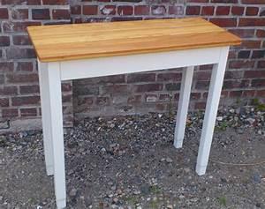 Tisch Selbst Gestalten : beistelltische tisch schmaler tisch f r flur diele bad k che ein designerst ck von ~ Orissabook.com Haus und Dekorationen