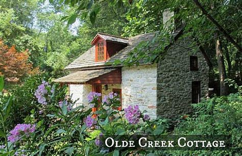 a small stone cottage on a creek in pennsylvania hooked on houses