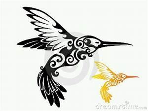 Tribal hummingbird | Tattoos | Pinterest