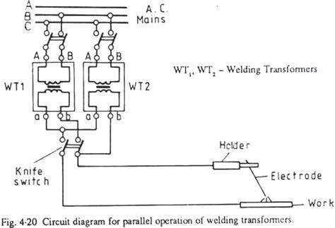 Welding Transformer Wiring Diagram by Welding Transformer Principle Requirement And Types