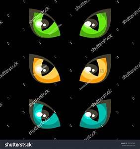 Cat Eyes Stock Vector Illustration 329797943 : Shutterstock